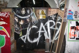 MADRID, Spain -- Graffiti at La Tabacalera